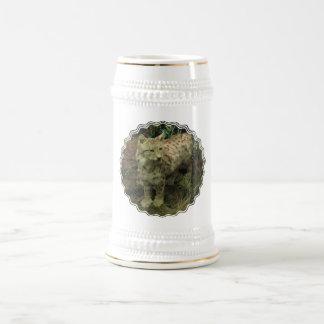 Cerveza ibérica Stein del lince Tazas