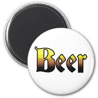 Cerveza Imán Redondo 5 Cm