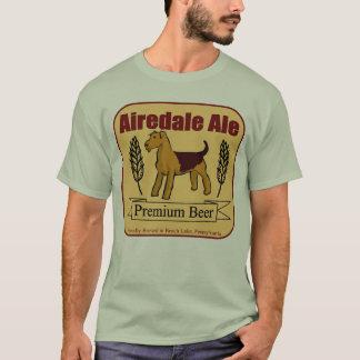 Cerveza inglesa de Airedale Playera