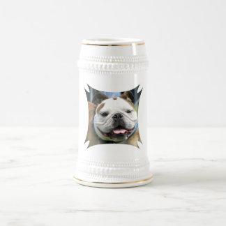 Cerveza inglesa Stein del dogo Jarra De Cerveza