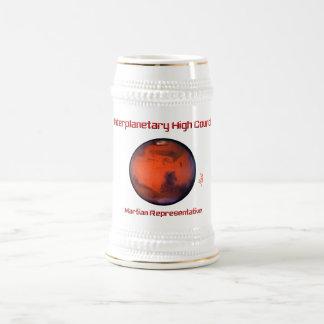 Cerveza interplanetaria Stein del alto consejo -- Jarra De Cerveza