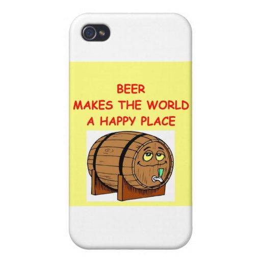 cerveza iPhone 4 protector