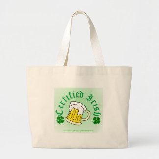 Cerveza irlandesa certificada 2gradient bolsa tela grande