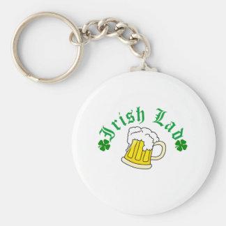 Cerveza irlandesa del chaval llavero redondo tipo pin