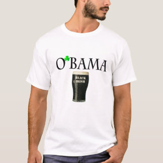 Cerveza irlandesa negra de Obama Playera