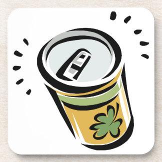 Cerveza irlandesa posavasos de bebidas