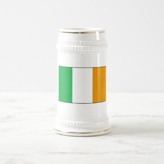 Cerveza irlandesa Stein de la bandera con los Jarra De Cerveza