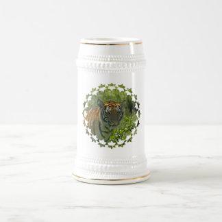 Cerveza joven Stein de Cub de tigre Taza De Café