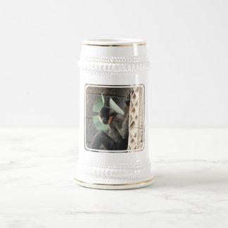 Cerveza joven Stein del mono del capuchón Jarra De Cerveza