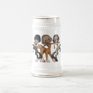 Cerveza juguetona Stein de los Centaurs Jarra De Cerveza