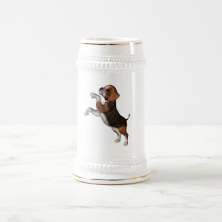 Cerveza juguetona Stein del beagle Jarra De Cerveza