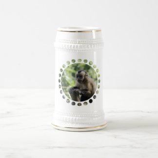 Cerveza juguetona Stein del mono Jarra De Cerveza