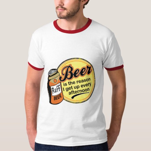 Cerveza, la razón me levanto cada tarde poleras