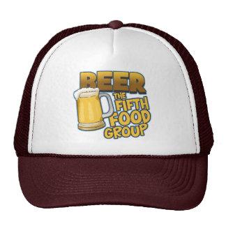 Cerveza: Las quintas camisetas y regalos del grupo Gorras
