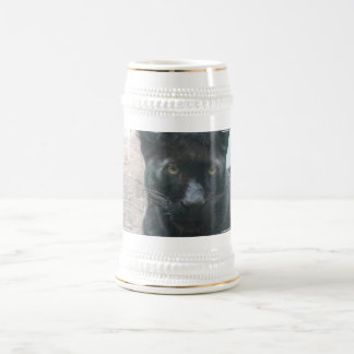 Cerveza linda Stein de la pantera negra Tazas