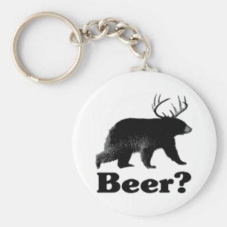 ¿Cerveza? Llavero