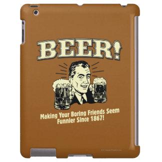 Cerveza: Los amigos de ayuda parecen más divertido Funda Para iPad