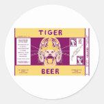 Cerveza Manhattan del tigre que elabora cerveza la Etiqueta Redonda