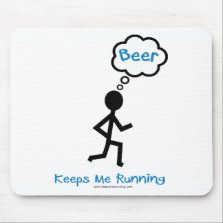Cerveza - me guarda el correr tapete de raton