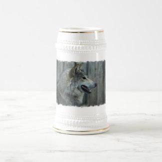 Cerveza mexicana Stein del lobo Jarra De Cerveza
