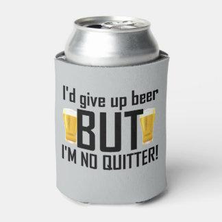 Cerveza ningún neverita de bebidas divertido del enfriador de latas