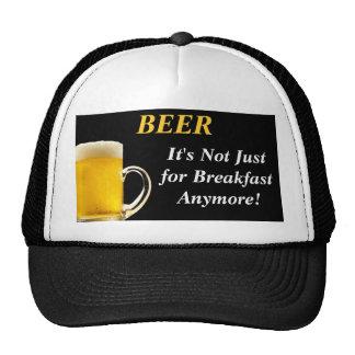 Cerveza - no está apenas para el gorra del desayun