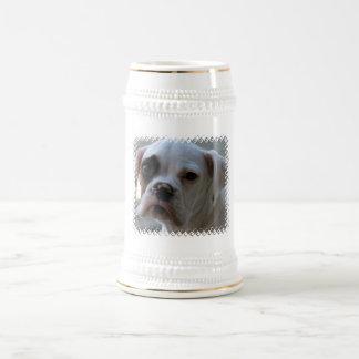 Cerveza observada negro Stein del perro del Jarra De Cerveza