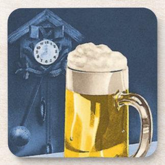 Cerveza Oktoberfest de Octoberfest del reloj de cu Posavaso