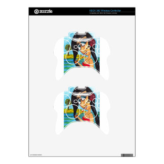 Cerveza on the Beach Xbox 360 Controller Skins