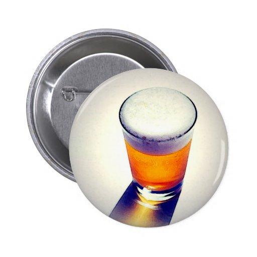Cerveza Pin Redondo De 2 Pulgadas