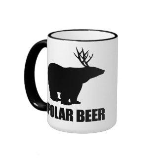Cerveza polar taza a dos colores