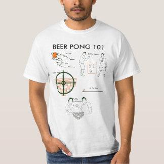 Cerveza Pong 101 Remera