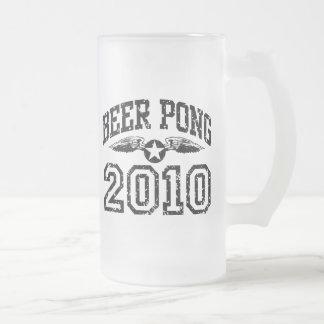 Cerveza Pong 2010 Tazas De Café