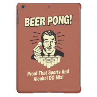 Cerveza Pong: Alcohol de la prueba y mezcla de los Funda Para iPad Air