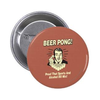Cerveza Pong: Alcohol de la prueba y mezcla de los Pin Redondo De 2 Pulgadas