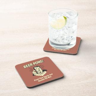Cerveza Pong: Alcohol de la prueba y mezcla de los Posavasos De Bebidas