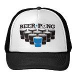 Cerveza Pong básico - azul Gorros Bordados
