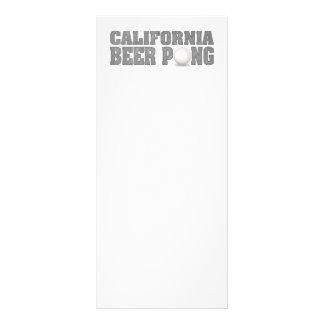 Cerveza Pong de California Plantilla De Lona