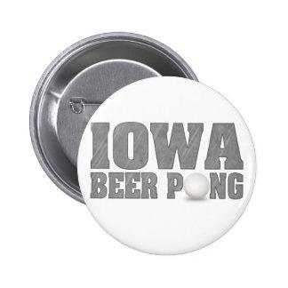 Cerveza Pong de Iowa Pin