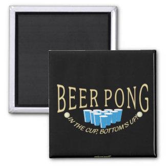 Cerveza Pong Imán Cuadrado