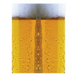 Cerveza que hace espuma de Oktoberfest Tarjetas Postales