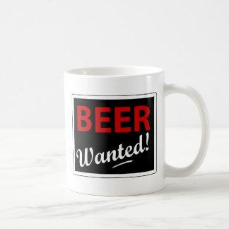 Cerveza querida taza
