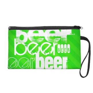 Cerveza; Rayas verdes de neón