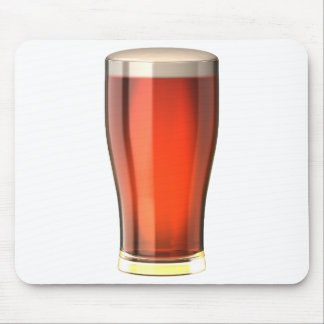 Cerveza real de la cerveza inglesa alfombrilla de ratón