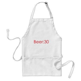 Cerveza Rojo 30 Delantal