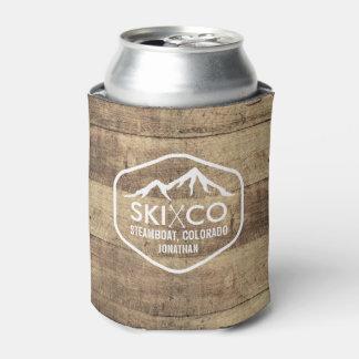 Cerveza rústica de madera del CO del barco de Enfriador De Latas