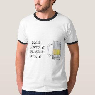 cerveza semivacía playeras