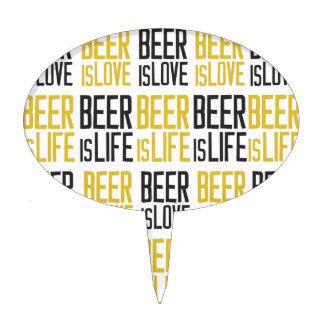 cerveza-ser-amor-cerveza-ser-vida-modelo decoraciones para tartas