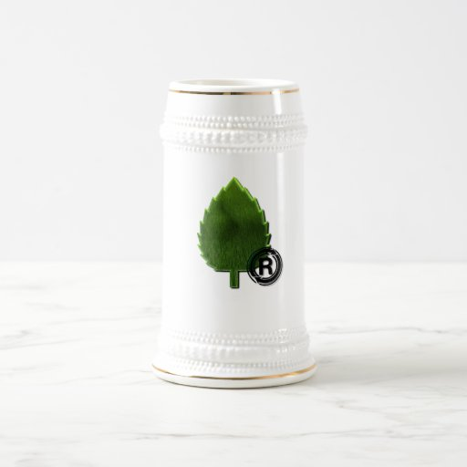 Cerveza sostenible Stein del ambiente Taza De Café