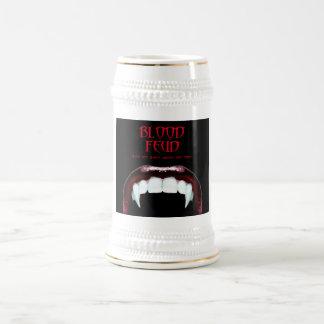 Cerveza Stein 01 de la pelea de sangre Jarra De Cerveza